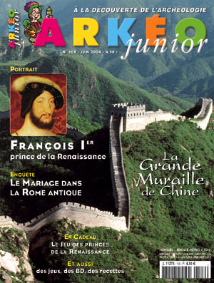 Arkéo Junior n° 109 - Juin 2004
