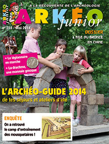 L'archéo-guide 2014