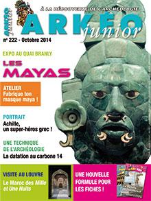 Arkéo Junior n° 222 - Octobre 2014