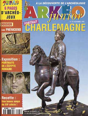 Arkéo junior n° 47 - Novembre 1998