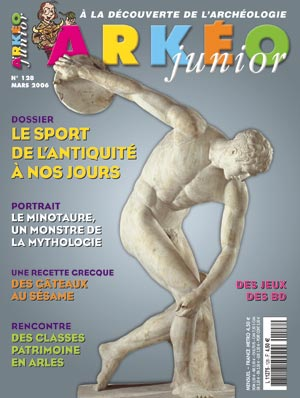 Arkéo Junior n° 128 - Mars 2006
