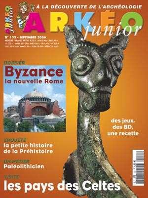 Arkéo Junior n° 133 - septembre 2006