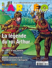 Arkéo Junior n° 157 - Novembre 2008