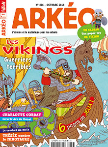 Les Vikings, guerriers terribles