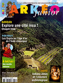 Arkéo Junior n° 186 - Juin 2011