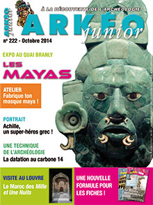 Arkéo Junior n° 222 - Octobre 2014